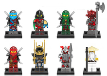 X0155 Ninjagoes krux weisnake Kai Samuraix vermin wu Lloyd Nya Pirate Ninja building blocks figures kids gifts toys DIY - The Block Club store