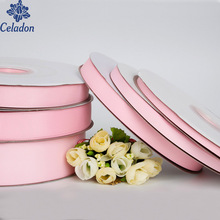 7/10/15/20/25/38MM Pink 100 Yard Grosgrain Ribbon Wedding Party Decoration Invitation Card Gift Wrapping Scrapbooking Supplies(China)