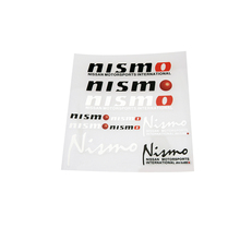 Aliauto Car Decoration Accessories Car Sticker and Decal for Nismo Nissan Qashqai Juke X-trail Tiida Teana(China)