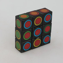 50pcs April Du 1x3x3 floppy ABS Magic Cube Black Puzzle Anti-stress Toy 5.7*1.9cm smoothly Educational Mind Game Gifts Kid