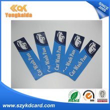 500pcs H3 9654 ISO18000 6C EPC Gen2 Vehicle Windshield UHF RFID tag for Car Parking(China)