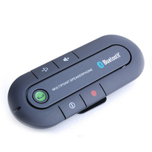 2016 New Hot Universal Wireless Handsfree Car Bluetooth Kit Speaker Speakerphone Clip for iPhone