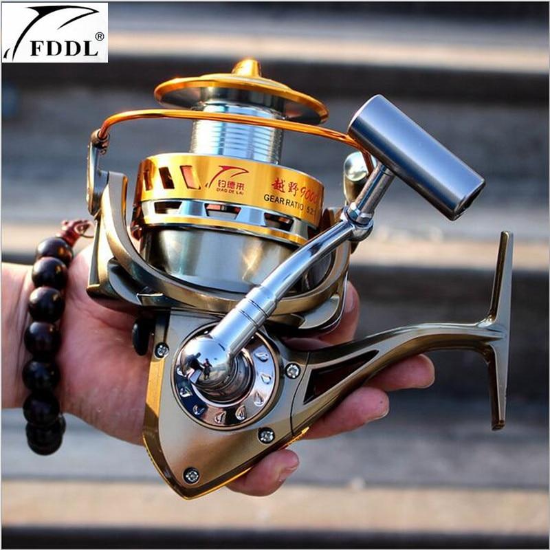 FDDL Brand 9000-8000 full metal spool Jigging trolling long shot casting for carp and salt water surf spinning fishing reel<br>