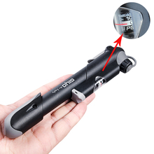 GIYO Mini Portable Bicycle Pumps Reinforced Plastic Tyre Inflator Pump with Pressure Bike Accessorr New Arrival Free Shipping
