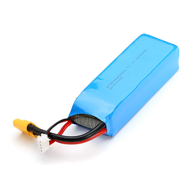 Original XK STUNT X350 RC Drone Quadcopter Spare Parts 11.1V 2200mAh 30C Rechargeable Lipo Battery<br>