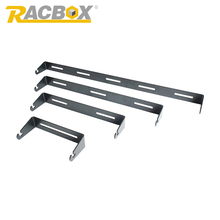 RACBOX 8'' 14'' 22 inch 32'' inch Universal Bull Bar Front Bumper Hood Windshield Roll Cage Mount Brackets for LED Light Bar(China)