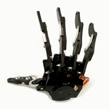 Robot hand-five fingers/finished Mini bionic hand/Assembled robot claw/gripper/left/right/DIY(China)