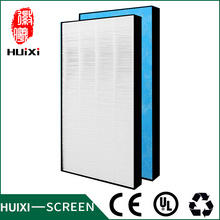400*232*33mm high efficiency hepa filter dust collector of air purifier parts for MC71NV2C-N MCK70 etc