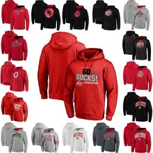 Ohio State Buckeyes College Football Playoff 2016 Fiesta Bowl Bound Playbook Custom Any Name Any Number Stitched Pullover Hoodie(China)