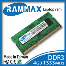 New sealed Laptop Ram Memory 1x4GB DDR3 SO-DIMM 1333Mhz PC3-10600/1.5v 204-pin/ CL9/high compatible with all brand motherboards