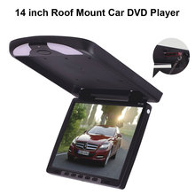 14 inch Roof Mount Car DVD Player with Built-in IR & FM Transmitter(China)