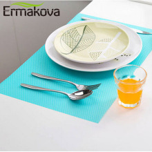 ERMAKOVA Multipurpose 4 Pcs/Lot EVA Refrigerator Freezer Mat Anti-fouling Anti Frost Anti-slip Waterproof Pad Table/Drawer Mat