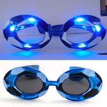 Fashion Football LED Light-Up Eye Glasses World Cup Fans Flashing Glasses Eyewear Halloween Glow Party Supplies(China)