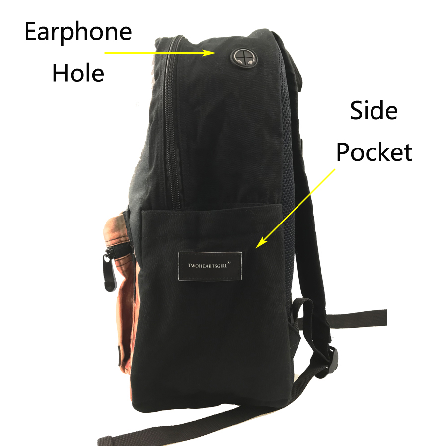 children school backpack kids school shoulder book bag