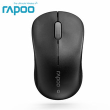 Original Rapoo 6010B Bluetooth 3.0 Optical Wireless Mouse Office Mice for Tablet Laptop Computer(China)