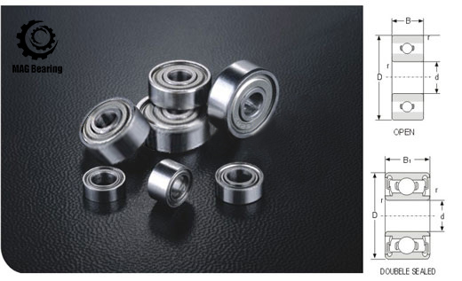 Inch Size Ball Bearing EE7-2RS Special Inch Ball Bearing 19.05*44.45*9.525mm<br>