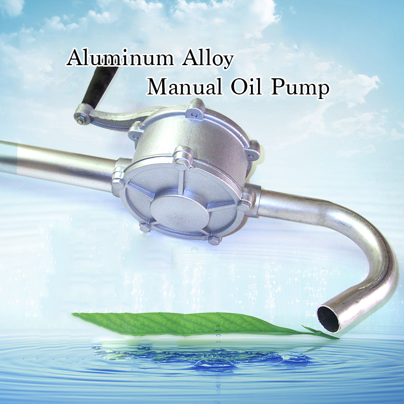 30L/min Aluminum Manual Oil Extraction Transporting Pump Editable Oil Hand-operated Barrel Pump High Quality Manual Oil Pump<br><br>Aliexpress