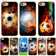 Buy Lavaza Fire Football Soccer Ball Hard Phone Case Apple iPhone X 10 8 7 6 6s Plus 5 5S SE 5C 4 4S Cover Coque Shell for $1.47 in AliExpress store