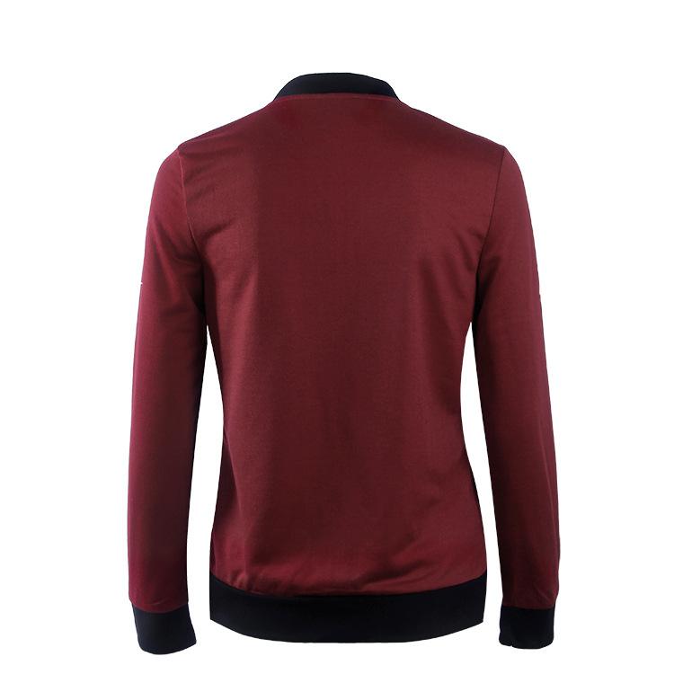 Hot Sprzedaż Jesień Tanie Ubrania Kobiet Małe Krótkie Kurtki Z Długim Rękawem Zipper Fly Outwear Kurtki Płaszcze Slim Cienkie Stylu topy Coat 18