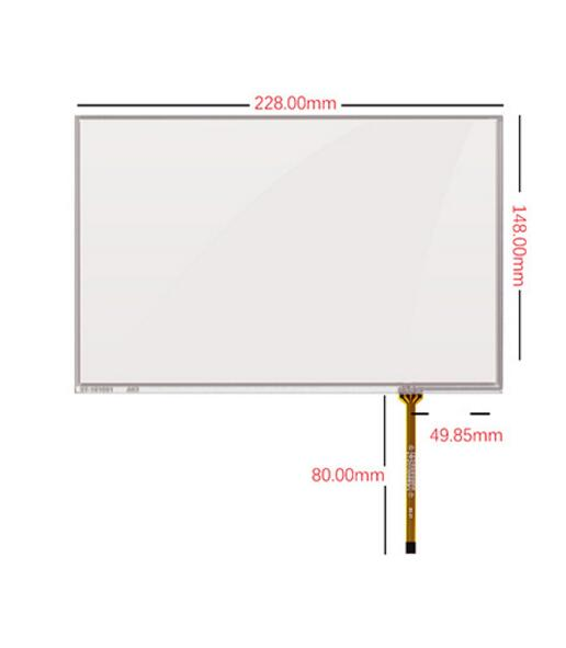 10.1 inch touch screen HSD101PWW1 B101EW05 V0 V1 V3 screen 1280*800 screen<br>