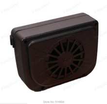 New High quality New car ventilation fan Solar Sun Power Car Window Fan Auto Ventilator Cooler Air Vehicle Radiator