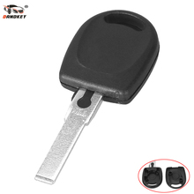 DANDKEY New Arrival Uncut HU66 Blank Transponder Key Shell For Volkswagen B5 Passat Remote Car Key(China)