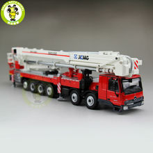 1/50 China XCMG Actros MP3 DG100 Aerial Platform Fire Truck Diecast model