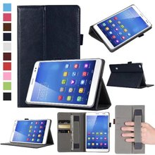 For Huawei MediaPad T3 7.0 BG2-W09 tablet PU leather cover case for Honor Play Pad 2 7.0 protective cover ski+pen(China)