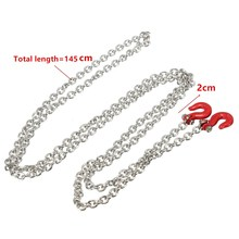 145cm Metal Trailer Hook & Chain For Off-road Climbing/Climbing Car Model Car