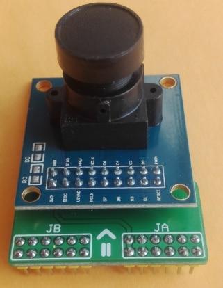 Ov7670 camera module supporting ZEDBOARD development board using 300 thousand pixels<br>