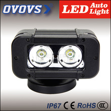 OVOVS Super bright best price single row 4inch off road led spot flood lights 20W led light bar for trucks vehicle 4x4 SUV 4WD