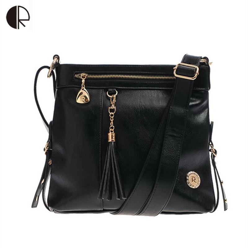 Hot Sale Women Fashion Shinning Package Vintage Tassels Messenger Bag Cowhide Genuine Leather Handbag BS267<br>