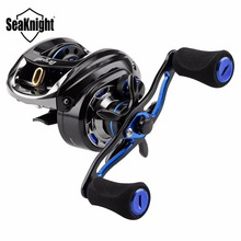 SeaKnight DRYAD 7.6:1 Bait Casting Fishing Reel 198g 11+1BB 5KG Carbon Fiber Drag Baitcasting Reel Lure Fishing Tackle Saltwater