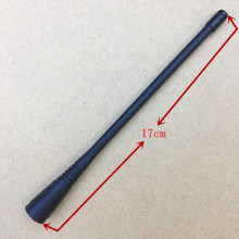 UHF 400-470mhz Flexible whip antenna for motorola GP338,GP328,GP3188,GP68 ,GP340,GP88S,GP88,CP140,etc walkie talkie 17cm