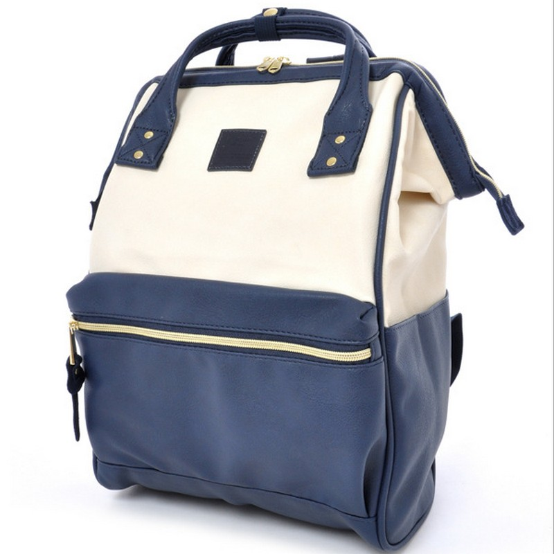 PU leather Japan School Backpacks For Teenage Girl&amp;boys school Backpack For School College bag For Women Anello high-quality<br>