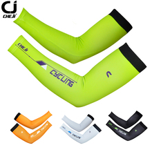 CHEJI Men sunscreen cuff bike cycling arm warmers arm sleeve summer bicycle cuff sleeves Silicone Elastic Band S-XXL B2002BT