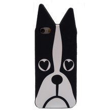 2016 The Newest Cute Cartoon Animal Design Love Dog/Zebra/Owl/Rabbit/ Husky/cat Soft Silicone Phone Cases For iPhone 4 4s 5 5s