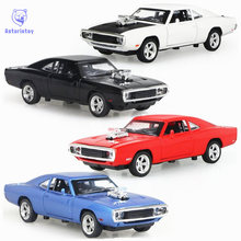 MINI AUTO 1:32 The Fast And The Furious Free Shipping Dodge Charger Alloy Car Models kids toys for children Metal Classical Cars