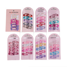60 pcs/lot 2017 hair clip hairpin side-knotted childre Barrettes hair maker tools 3cm mini small clip Hair accessories wholesale