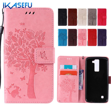 IKASEFU Phone Bag Case for LG K8 K10 G4 Nexus 5X Fashion Style Embossed Protective Wallet Leather Cover Coque for LG K8 K10 G4