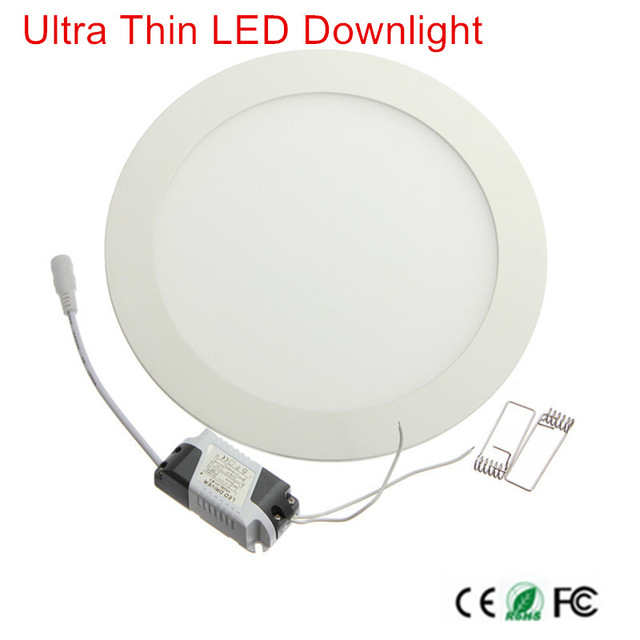 1pcs Dimmable LED Panel Light 3W 6W 9W 12W 15W 25W Recessed Ceiling LED Downlight Indoor Spot Light AC110V 220V Driver Included(China)