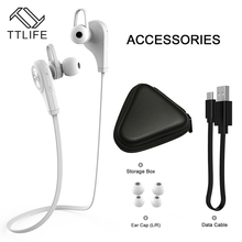 TTLIFE Bluetooth Earphone Q9 Wireless Sport Hi-Fi Music Stereo Headphones With HD Mic For Android 4.1 Smart Phone Xiaomi(China)