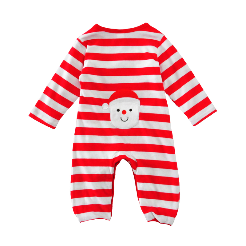 christmas baby girls romper autumn spring red striped newborn infant long sleeve romper baby boys girls cotton jumpsuit clothes<br><br>Aliexpress