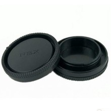 Buy 10 Pairs camera Body cap + Rear Lens Cap NEX-6 NEX-7 NEX5R NEX3E DSLR free for $8.18 in AliExpress store