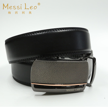 Messi Leo Man Belts Genuine Leather Belt Men Cowskin Automatic Buckle Fashion Casual Belt For Male Formal Novelty Belt Famous(China)