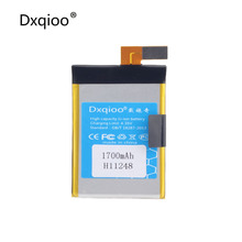 Dxqioo mobile phone battery 1700mAh for Haier w910 hw-w910 h11248 batteries(China)