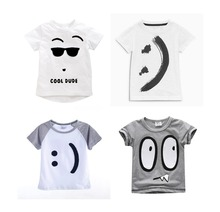 Buy 2018 Brand Boys T Shirt Cute Boys Tops Kids T-Shirt Designer Toddler Baby Boys T Shirts Tops Cotton Short Sleeve Tees for $7.29 in AliExpress store