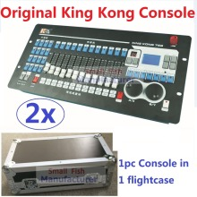 2xLot Free shipping King Kong 768 DMX Console 60 Scenes Professional Stage Lighting Controller DJ Disco DMX512 Lights Equipment(China)