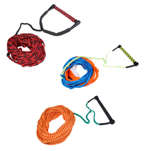 Safety Surfing Acces 1000kg 23 Meters 10mm Water Ski Wakeboard Rope with Handle Grip for Leash Knee Boarding Waterski Euquipment