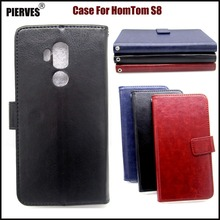 Buy PIERVES R64 Series high PU skin leather case HomTom S8 Case Cover Shield for $4.03 in AliExpress store